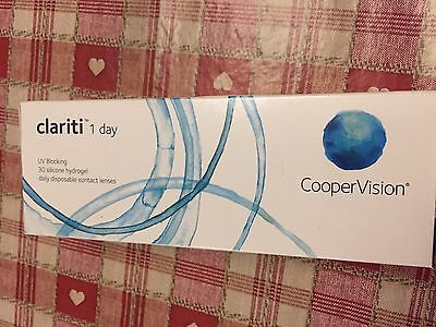 1 Day Clariti Contact lenses -2.00