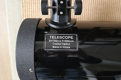 Skywatcher 130mm Telescope OTA with mounting Rings