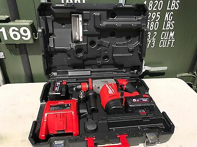 NEW Milwaukee M28CHPX-502C 28v Fuel SDS Plus Hammer Drill 2 x 5.0Ah Li-Ion