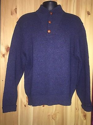 Peak Value Vintage REI Pullover Mountain Wool Blend Sweater Mens Size Large