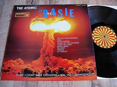 Count Basie & His Orchestra, The Atomic Mr Basie, Uk Roulette Lp/1969 Reissue/ex