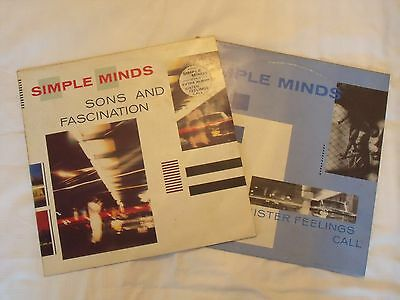 Simple Minds - Sons and Fascination - with free album - 1981
