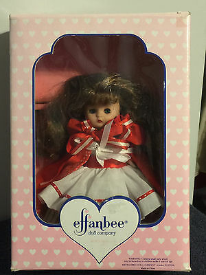 Effanbee Doll - Red Riding Hood - Vintage 1994 - NIB - MUST SEE PICTURES!!!