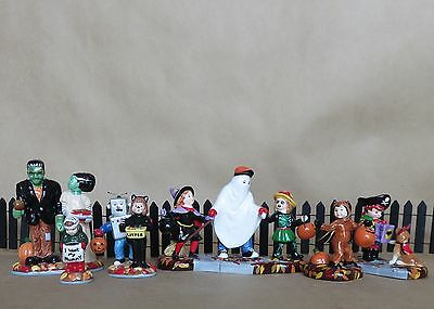 Dept 56 Halloween ~ Treats for the Kids (3) & Trick or Treat Kids (3)  NEW
