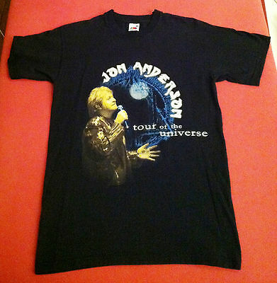 JON ANDERSON of YES 2005 European Tour of the Universe Official Shirt Sz S NWOT