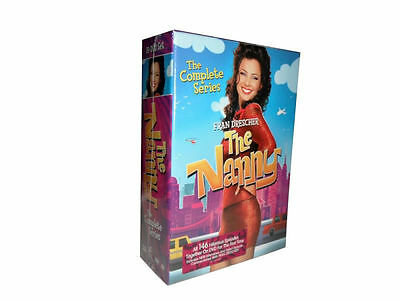 The Nanny: The Complete Seasons Series 1-6 (DVD, 2015, 19-Disc Set) 1 2 3 4 5 6