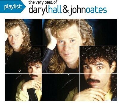 Playlist: The Very Best Of Daryl Hall & John Oates - Hall & (CD Used Very Good)