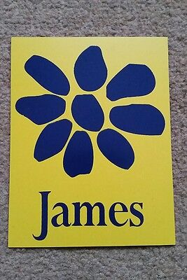 james the band tim booth magnet 3