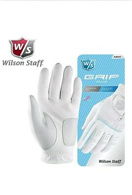 Ladies Wilson Staff Grip Plus Golf Gloves  Size medium twinpack