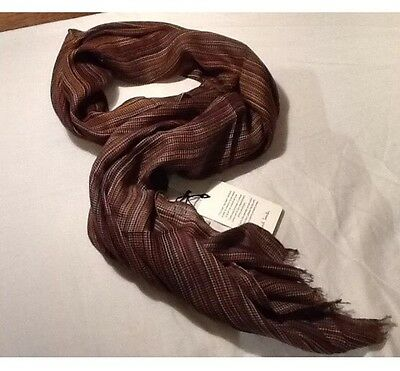 PAUL SMITH Multistripe Scarf BNWT RRP £160 Made In Italy (Missoni/Burberry/Gucci