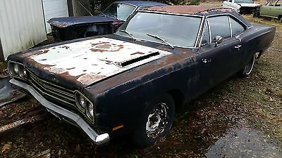 1969 Plymouth Road Runner  1969 Road Runner Original A4 Silver Bench Seat 4/Speed Car