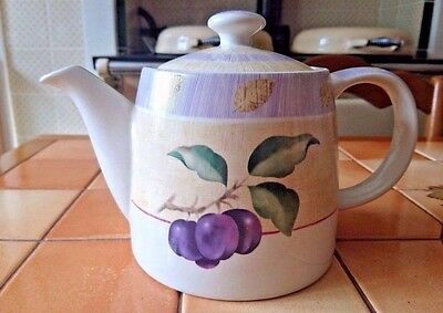M&S Marks and Spencer Wild Fruits Teapot Unused Condition with Original Label