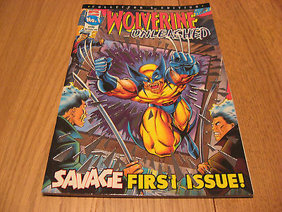 Wolverine Unleashed (1 Issue) #1 dd.1996 - UK