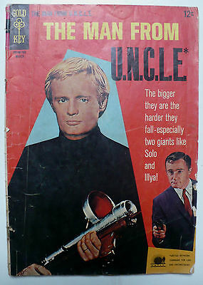 MAN from UNCLE GOLD KEY COMIC BOOK - Mar. 1967 ISSUE # 11