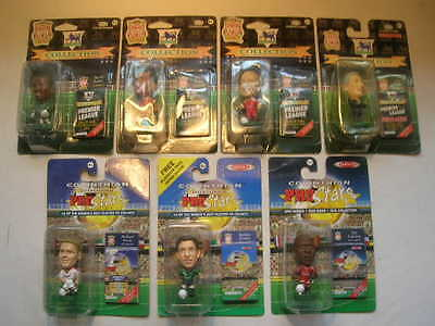Group of 7 Corinthian Football Figures LIVERPOOL all Unopened,Sealed Blisters