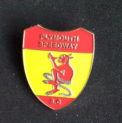 Speedway badge Plymouth
