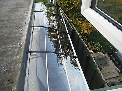 Polycarbonate DIY Cantilever Canopy 1270x 6000mm/ Garden Shed/Shelter/Walkways