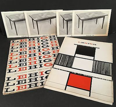 Mid Century LEHIGH FURNITURE CO. NEW YORK CITY 2 Vintage Catalogs, Modular +More