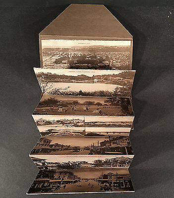 Picturesque Wanganui New Zealand NZ Tanner Bros. Accordion Fold View Folder NICE