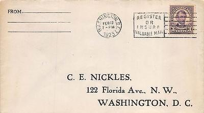 555 3c Abraham Lincoln, First Day Cover Cachet [E232947]