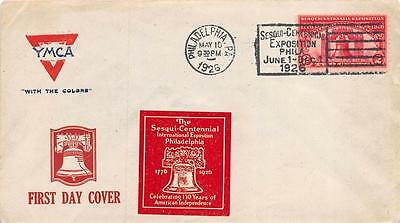 627 2c Sesquicentennial Exposition, First Day Cover, Philadelphia, PA [E233050]