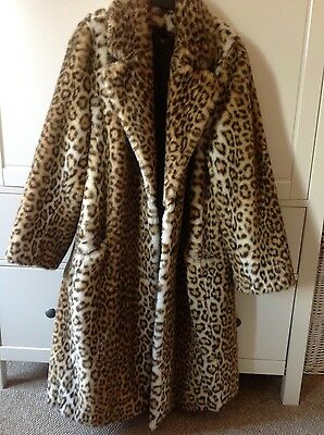 Luxury Vintage leopard print coat