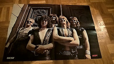 Accept   poster like UDO Vanize Gladiators Grave Digger Running Wild