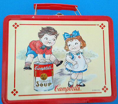 1998 Campbell's Lunchbox Collectors Series Retro Reproduction Tin