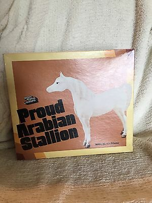 Vintage BREYER HORSE PROUD ARABIAN STALLION Matte 1976-79 with box