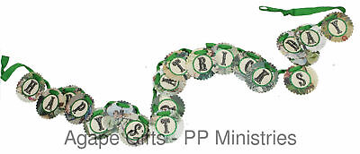 Primitives By Kathy Garland - Happy St. Patrick's Day Paper Banner