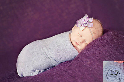 Newborn baby infant wraps swaddle Cheesecloth Photography photo prop GB15