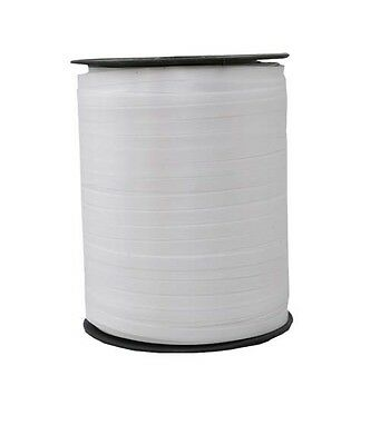 Gift Ribbon white 5mm x 500m Polyband ribbon Ring tape