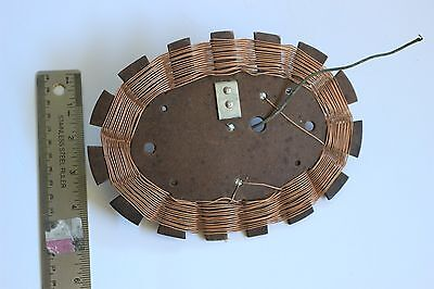 VINTAGE AM Radio Antenna Loop/Coil/Inductor  for desktop Tube Radio 8x5.5 inches