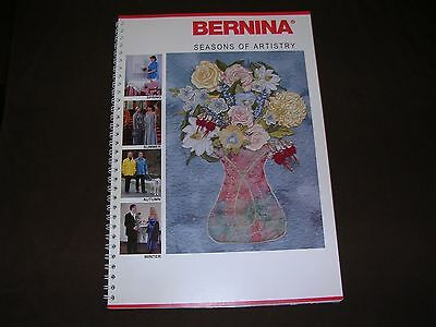 Bernina, Seasons of Artistry project book