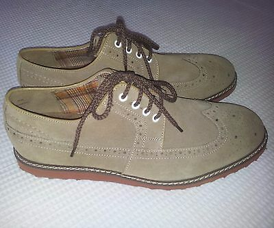 Hush Puppies - Mens lace up Suede Shoes - NEW - Size 11