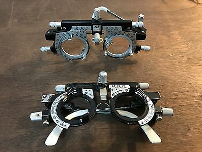 Lot of 2 Marco Vintage Trial Glasses Lens Frame, Ophthalmology, Steampunk used