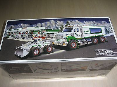 Hess Toy Truck And Front Loader (729071020082) New
