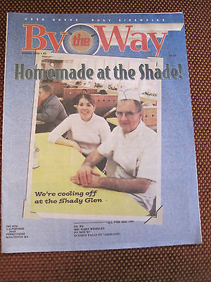 BY THE WAY Diner Magazine #2, Spring 2002 Edition, Mint Condition, Smoke Free