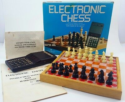 Electronic Chess by TRYOM - Complete Set in Original Packaging - Tested! - EUC