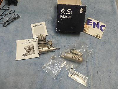 O.S. Max 40 vintage model airplane engine new old stock