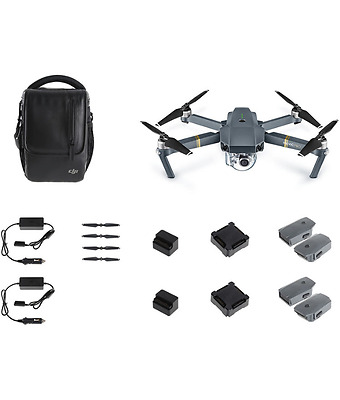 Dji Mavic Pro Fly Even More Combo!! Drone With Extras