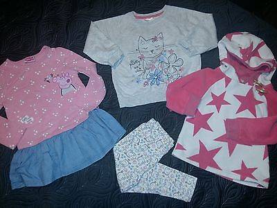 Girls clothes bundle age 12 to 24 months