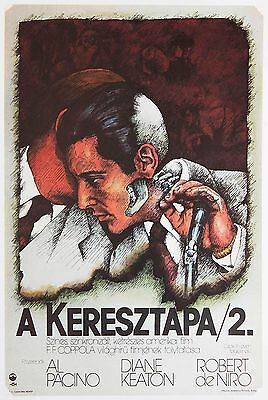ORIGINAL Hungarian The Godfather: Part II MOVIE POSTER ...# POST-SOC