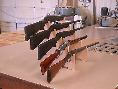 Rifle Shotgun Sword Display Stand Gun Rack 5-Gun Must-Have for the Gun Shows!