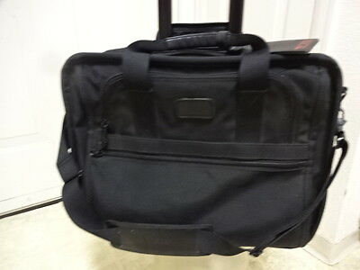 Tumi Wheeled Lap Top Rolling Brief Case Bag Made In Usa Very Clean Gently Used