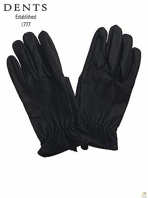 Dents Men's Fleece Lined Leather Gloves Warm Winter ML2232 New