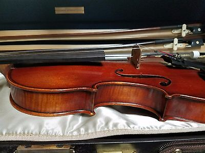 Clement & Weise Bubenreuth 2001 Violin-Musafia Case- 2 Bows