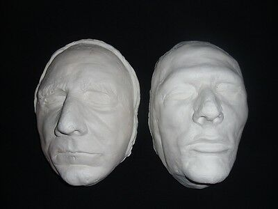 Burke & Hare Infamous Grave Robbers And Murderers Death Masks  Life Size Replica