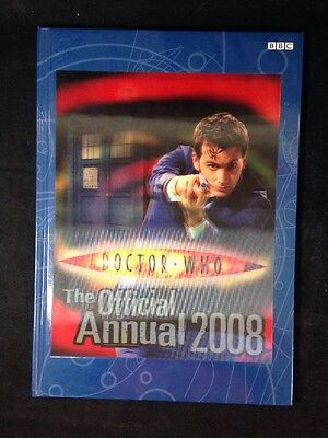 (Very Good)-Doctor Who: The Official Annual 2008 (Hardcover)-BBC-1405903554