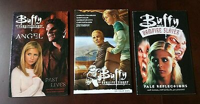 Lot 3 of Buffy the Vampire Slayer graphic novels Soft Cover NEW FIRST EDITIONS